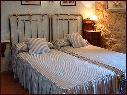 Habitación con camas gemelas de la Casa Meu Reposo